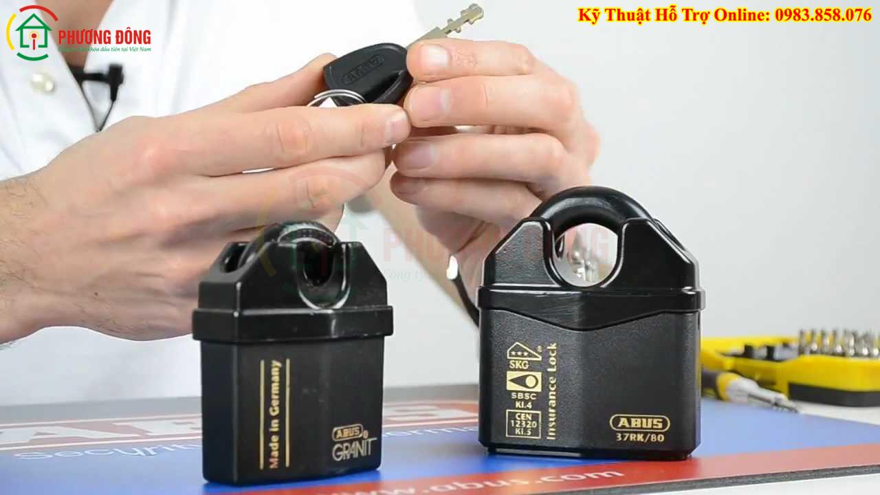Khóa cửa cổng ABUS-Granit-37/80