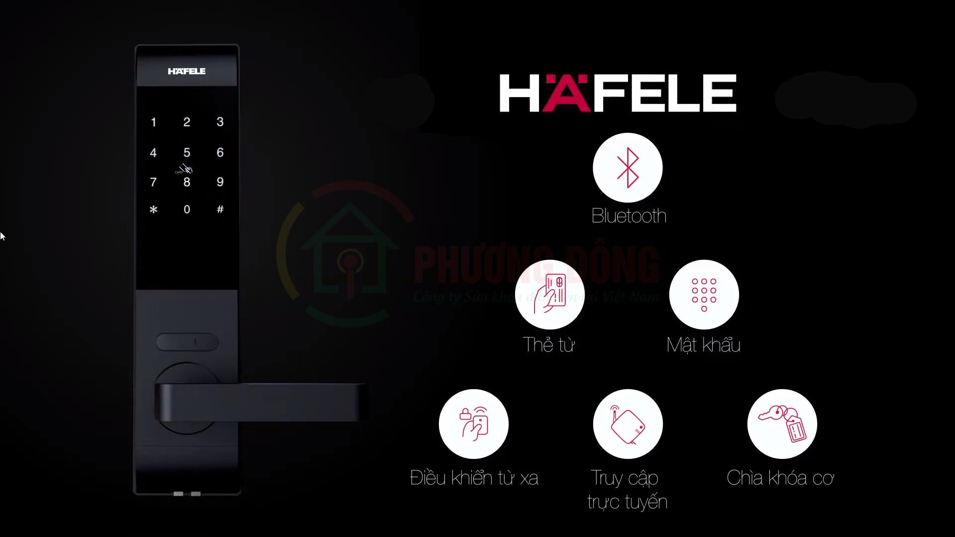 Khóa thông minh HAFELE DL7900