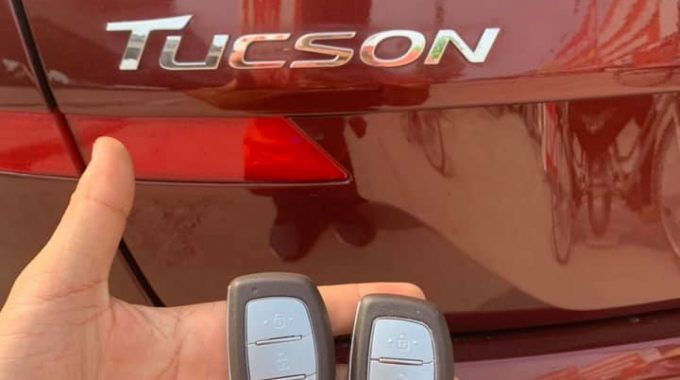 Chìa Khóa Xe Hyundai Tucson