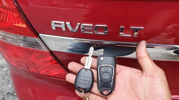 Làm Chìa Khóa Chevrolet Aveo
