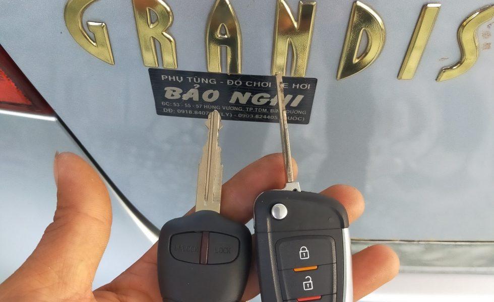 Làm Chìa Khóa Xe Mitsubishi Grandis Nhận Chìa Ngay Giá Tốt Nhất