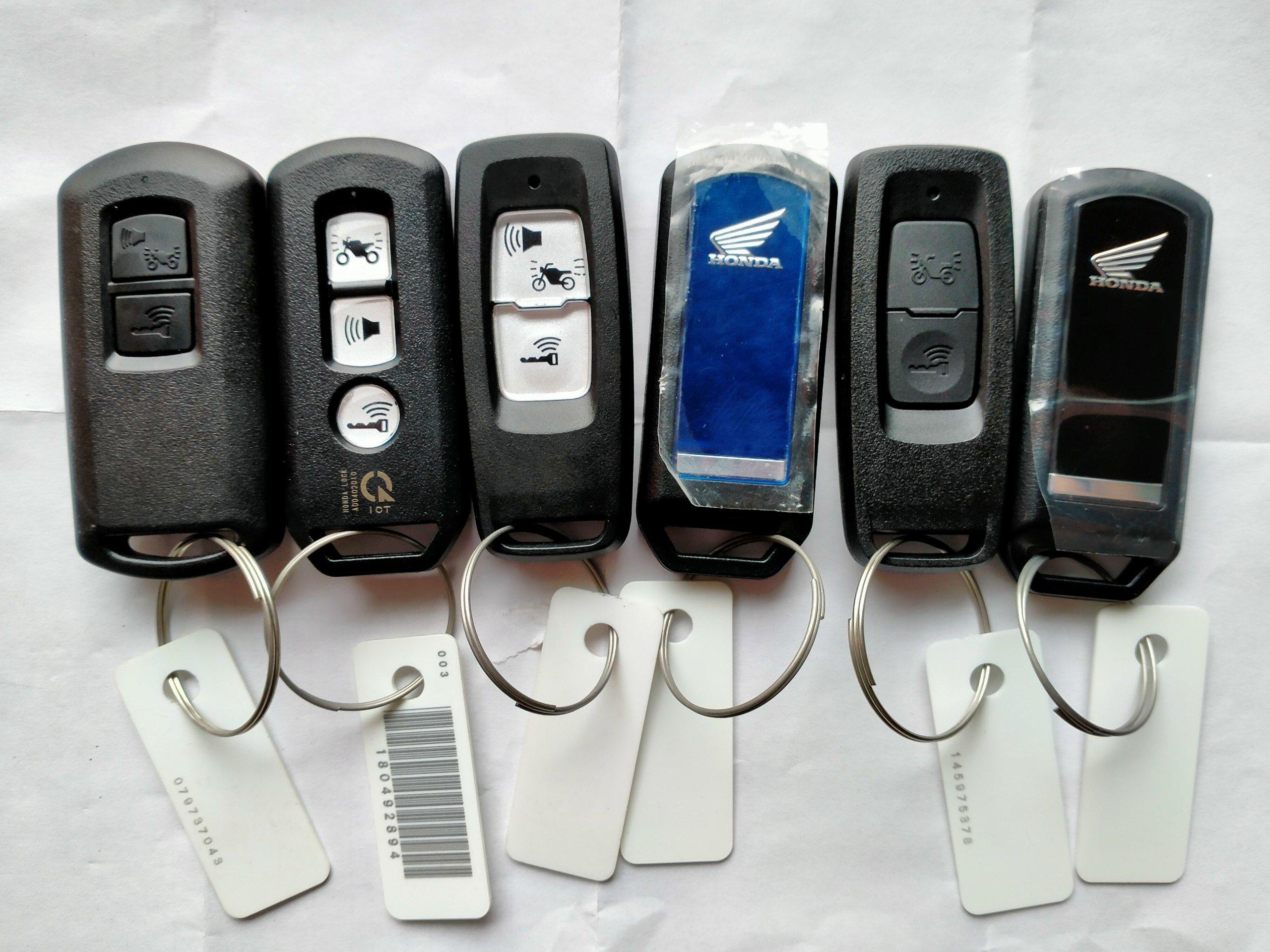Cách lấy mã ID smartkey cho xe máy Honda