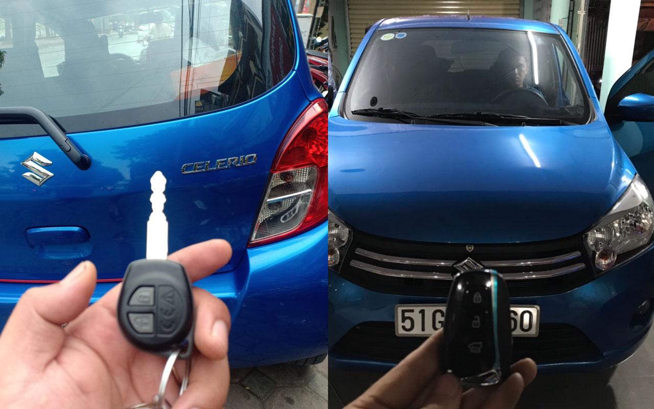 Làm chìa khóa Suzuki Celerio
