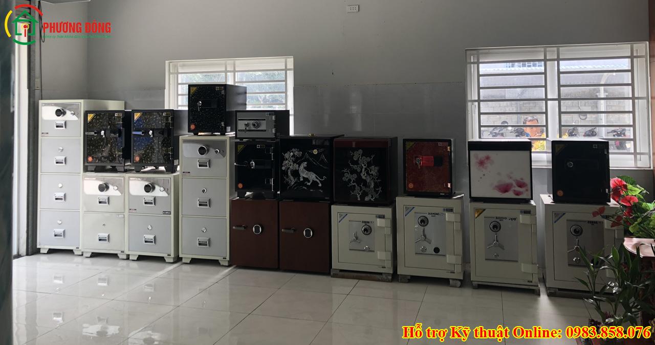 Các loại két sắt trên thị trường